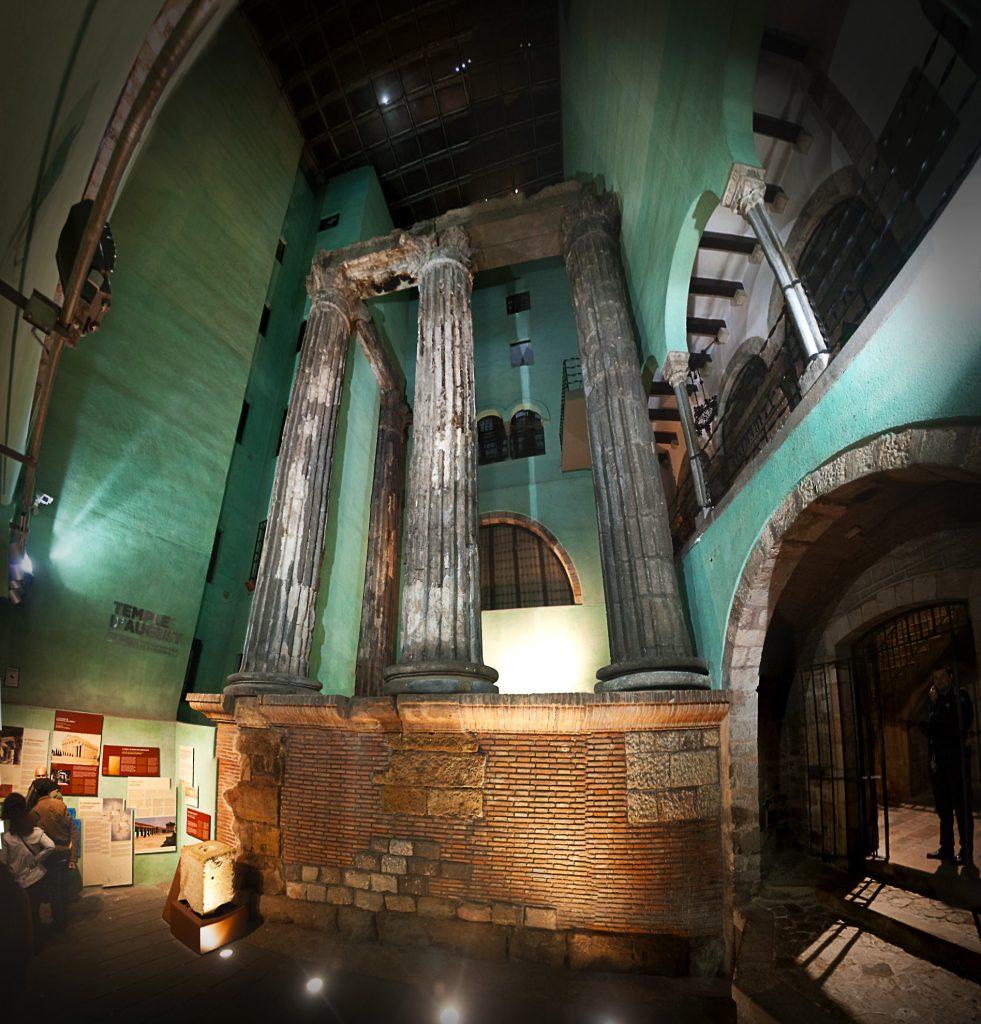 El templo del emperador Augusto